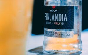 Finlandia Vodka bottle