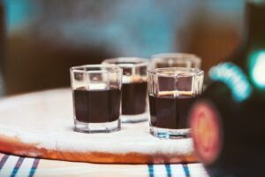 liqueurs served up for sipping